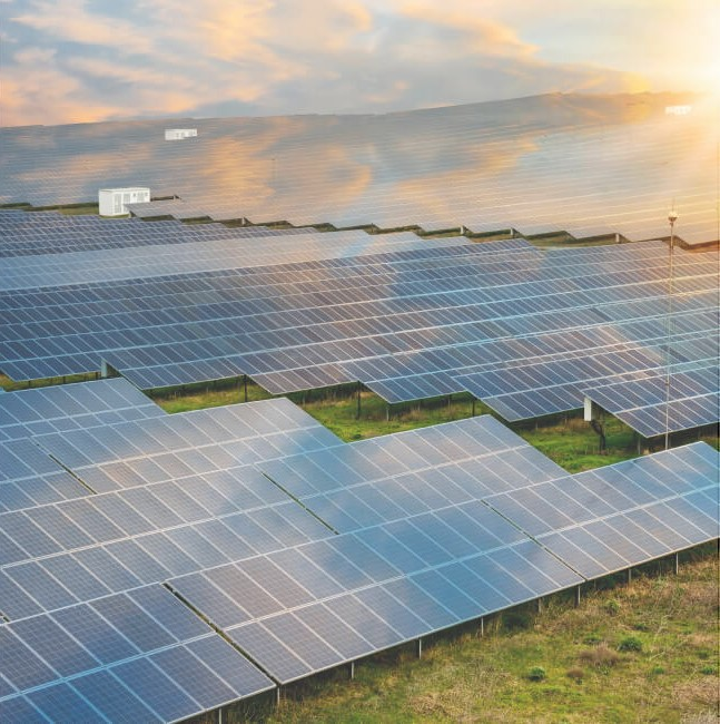 Промышленые солнечные электростанции