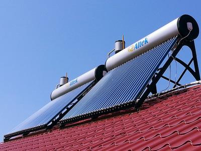 Крышные солнечные коллекторы