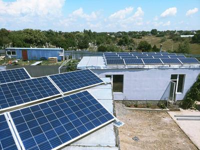 Сонячні панелі в Одесі