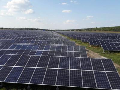 Установка солнечных полей