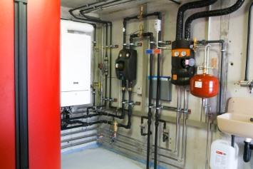 Cистема отопления и водоснабжения монтаж