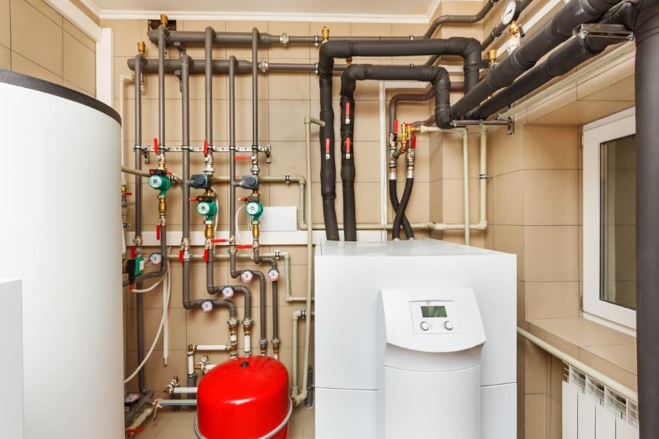 Монтаж классических систем отопления