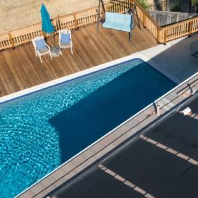 Нагрев бассейна солнечным коллектором