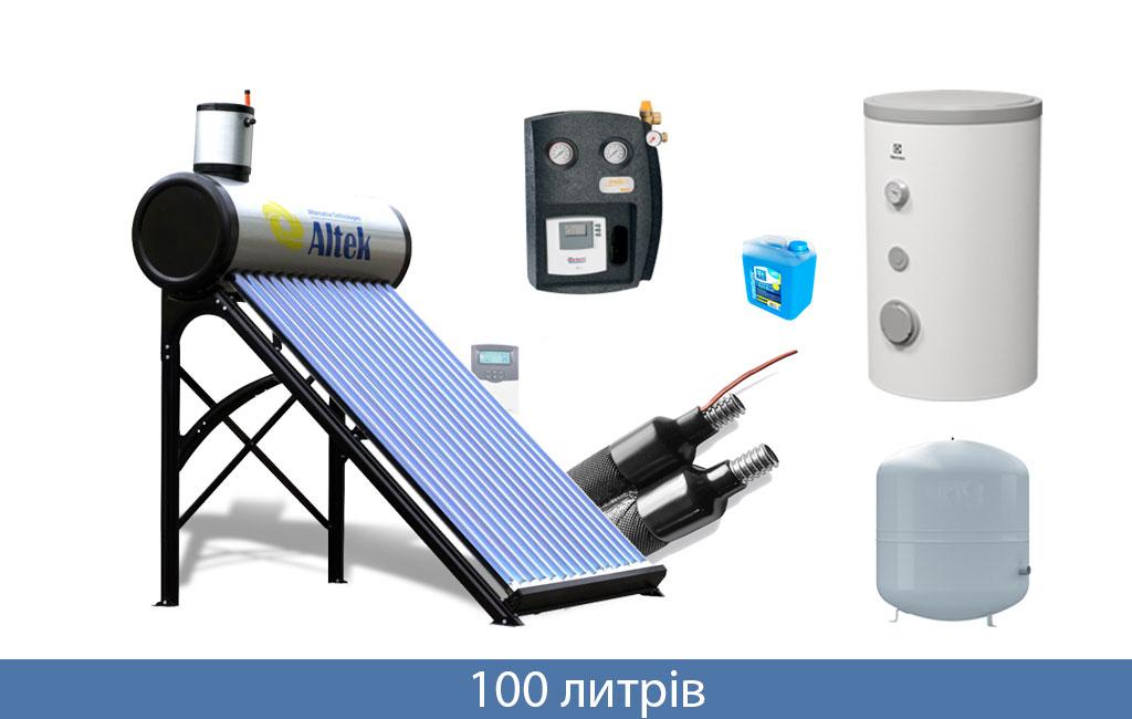 солнечный коллектор 100л