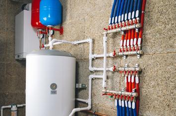modern boiler room