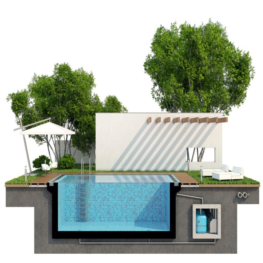 Тепловий насос для басейну