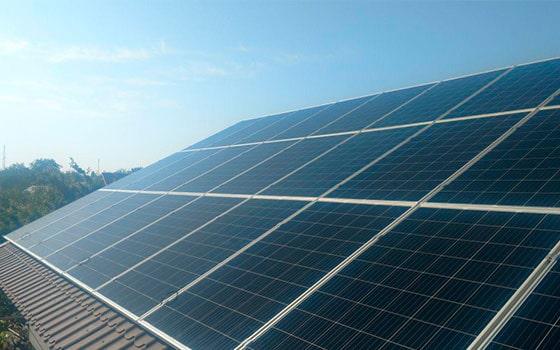 Сетевая солнечная станция мощностью 10 кВт