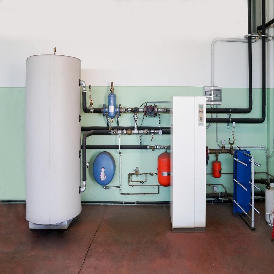 Тепловий насос для опалення та ГВП