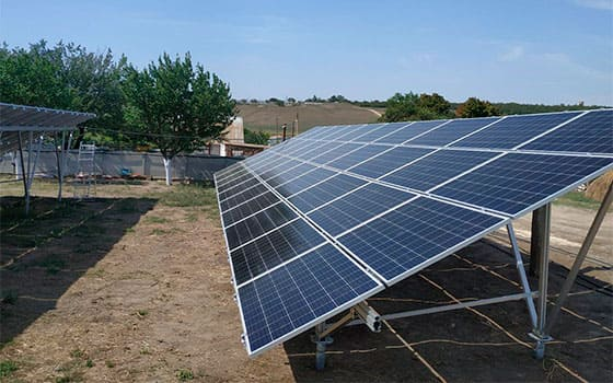 Солнечная станция 30 кВт наземная