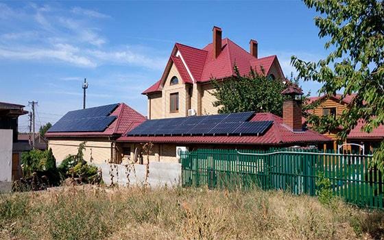 Солнечная станция под зеленый тариф