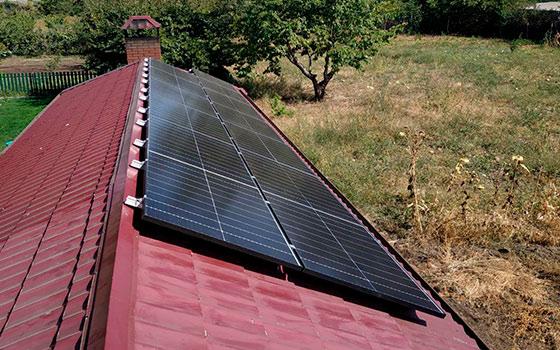 Солнечная станция 10кВт на крыше