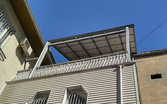 Солнечная станция в многоквартирном доме