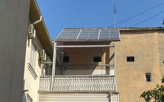 Солнечная станция в квартире