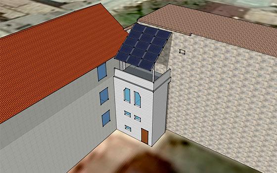 Визуализация солнечной станции