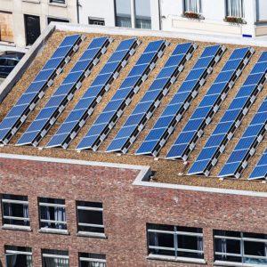 Сетевая солнечная станция для частичного замещения электропотребления